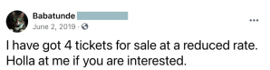 ticket scammer, ticketmaster scams, fake concert ticket